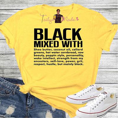 Black mixed...