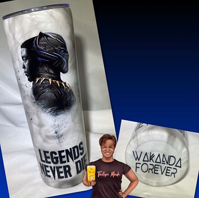 Legends Never Die Stainless Steel Tumbler
