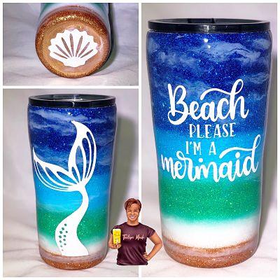 Beach I'm a Mermaid