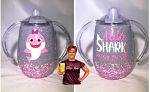 Baby Shark Inspired Sippy Cup