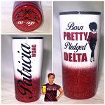 Born Pretty Pledged Delta Inspired Tumbler