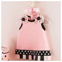 Light Pink Dot Dress